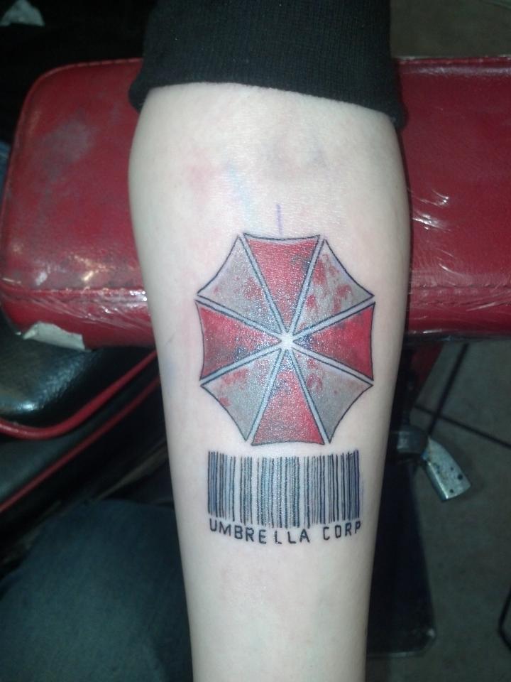 21+ Umbrella Corp Tattoos