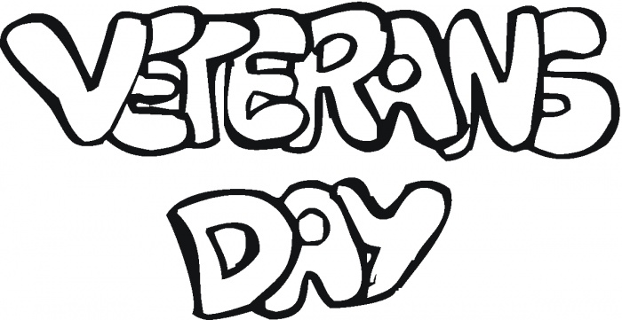 veterans day coloring page picture