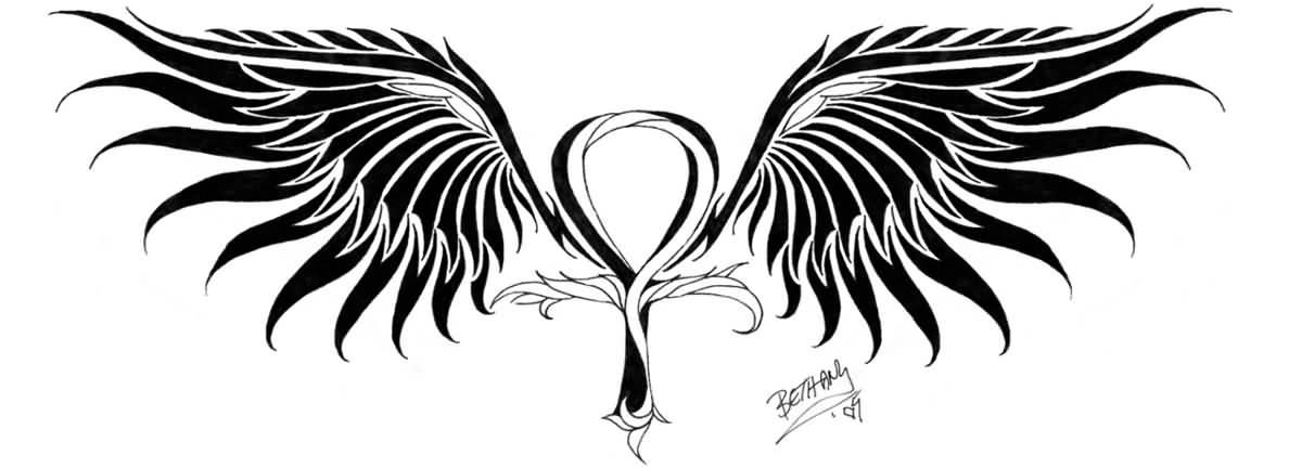 Aunk Tattoo Design