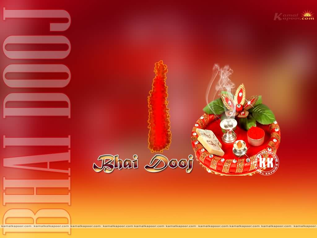 50 latest bhai dooj 2016 wish pictures and images wish you happy bhai dooj thali decoration picture kristyandbryce Images