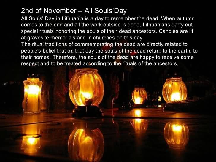All Souls Day Candles Clipart Image
