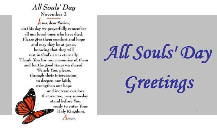all souls day greetings