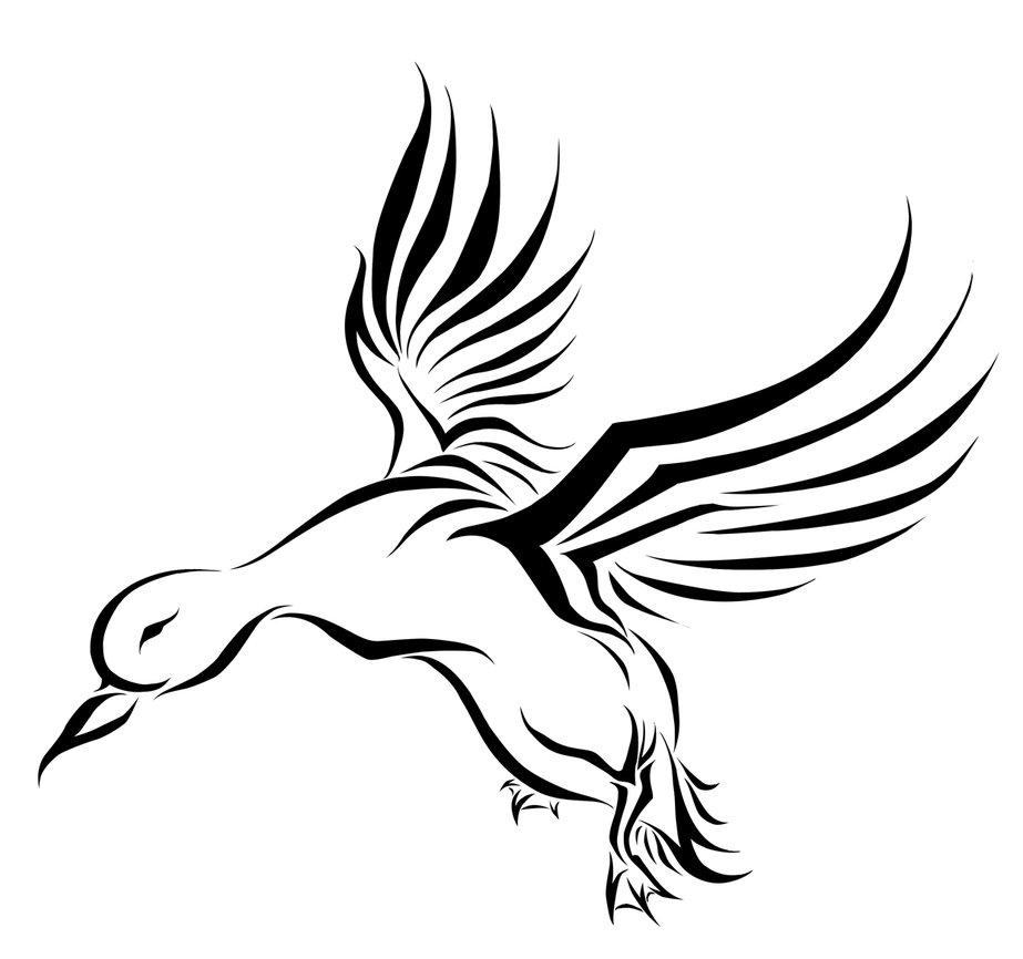 10 Latest Duck Tattoo Designs
