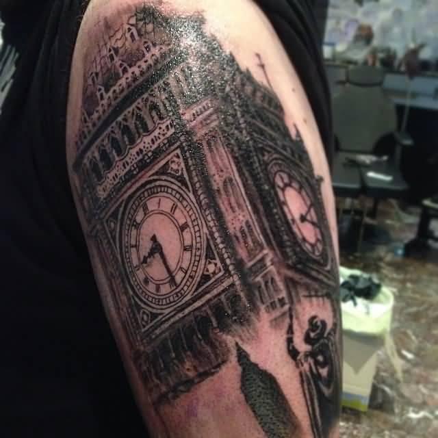 32 Incredible Big Ben Tattoos