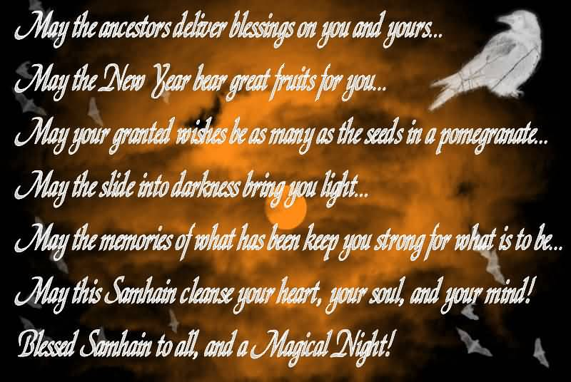 Image result for blessed samhain
