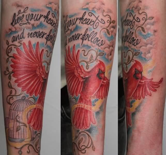 Askideas Com: Cardinal Tattoos