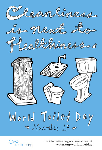 60+ World Toilet Day 2017 Wish Pictures
