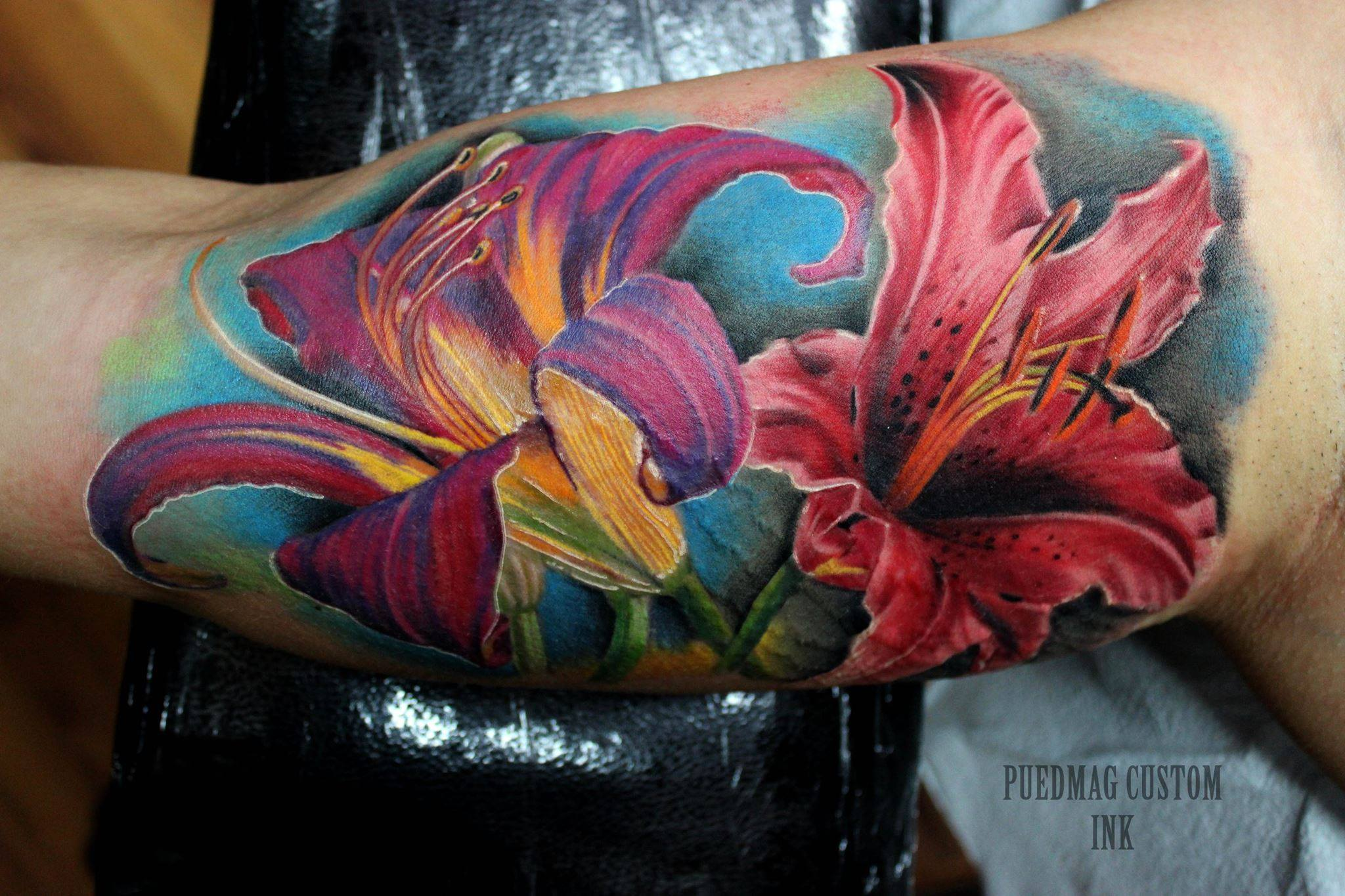 4+ Latest Lily Flower Tattoos