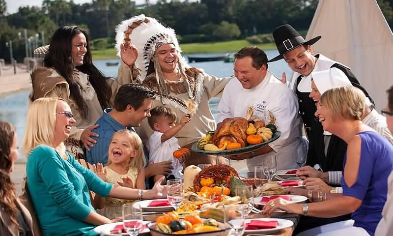 Картинки по запросу thanksgiving day family