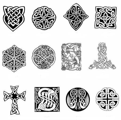 Gun Tattoos Meanings Designs And Ideas: Grey Celtic Tattoo Designs