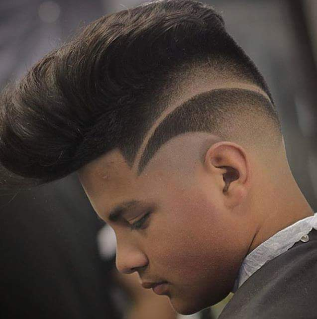 Hairstyle tattoo on side head for Tattoos on side of head