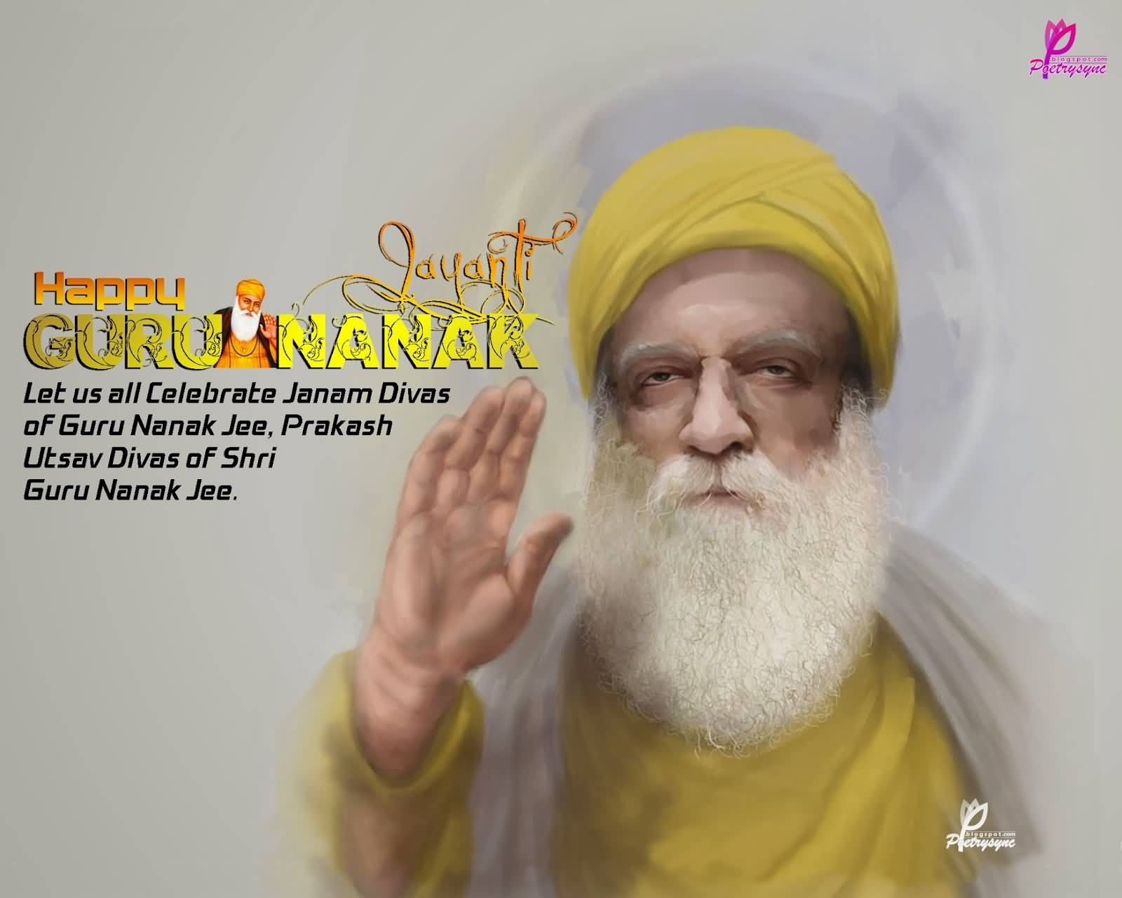 latest guru nanak jayanti greeting pictures and images