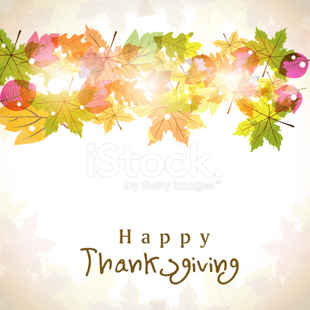 Happy Thanksgiving 2016 Autumn Leaves Picture