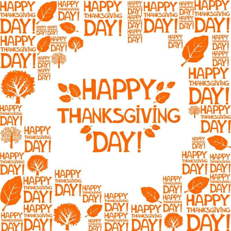 Happy Thanksgiving 2016 Beautiful Greeting Card