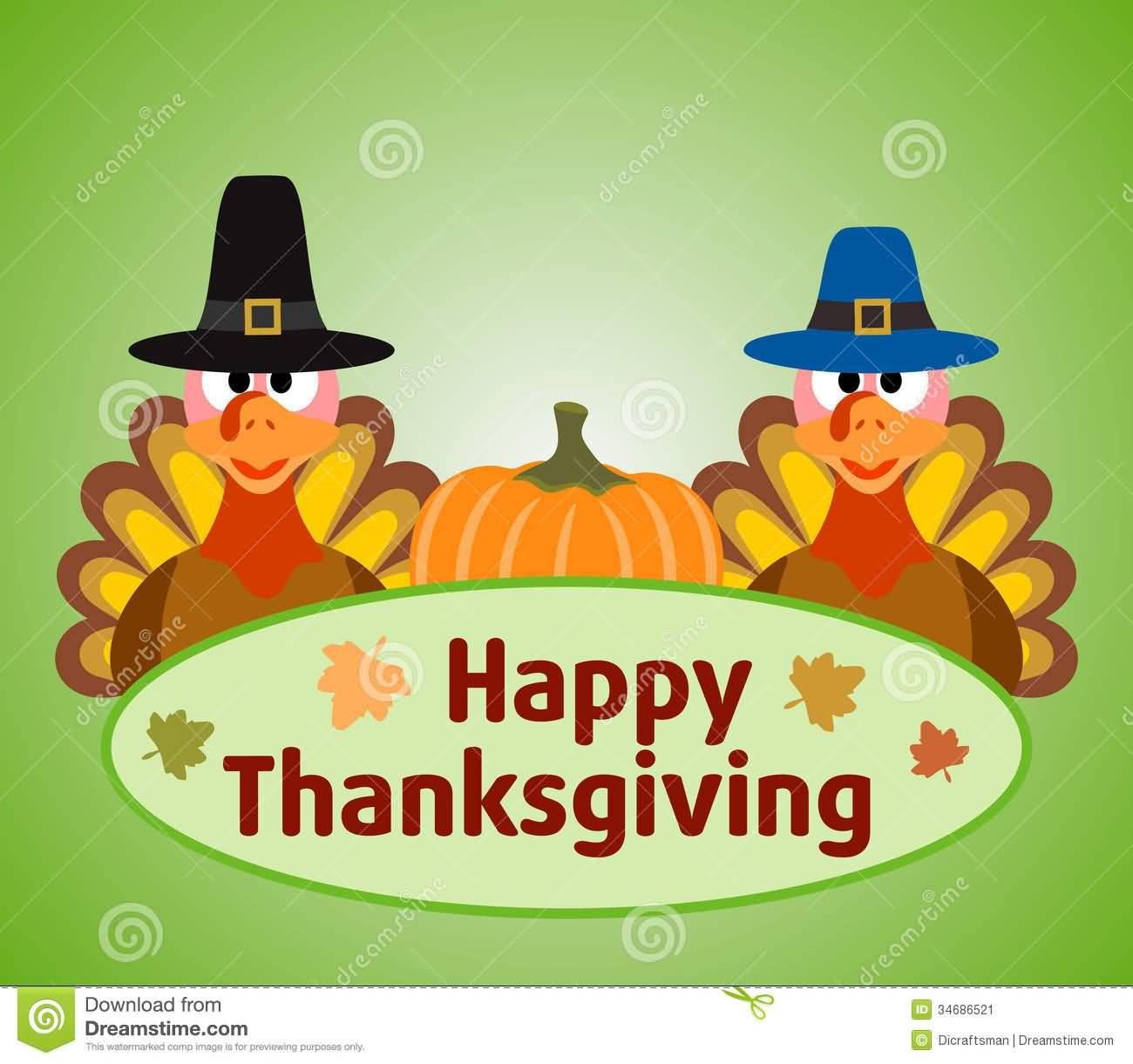 happy thanksgiving clip art - photo #46