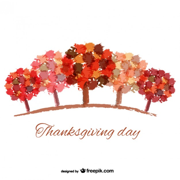 Happy Thanksgiving Day Hand Made Greeting Card