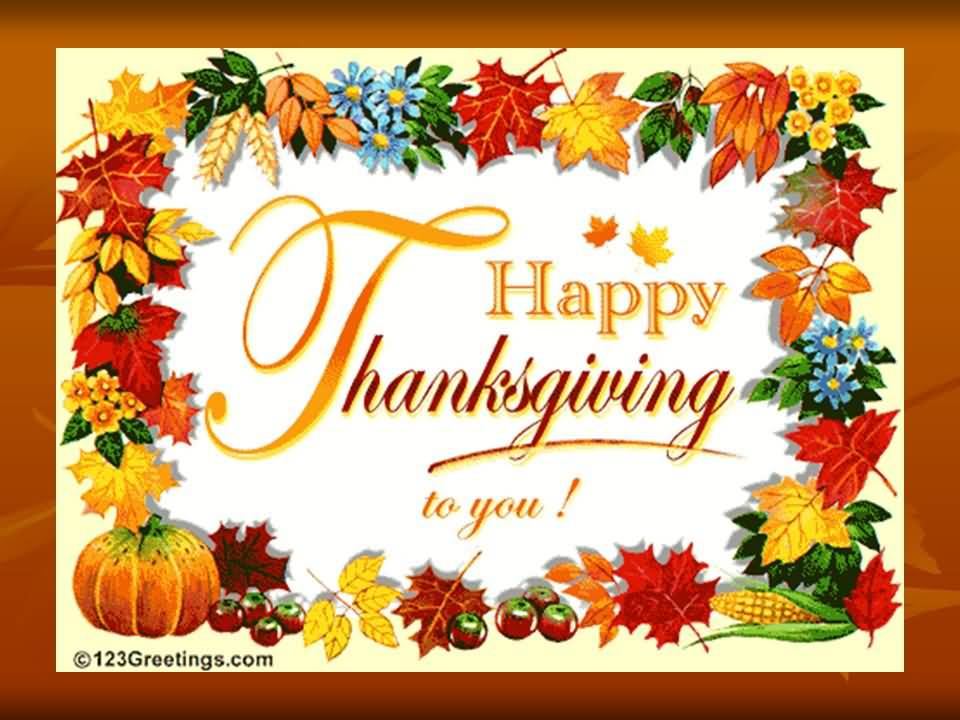 Happy Thanksgiving Day To You Picture