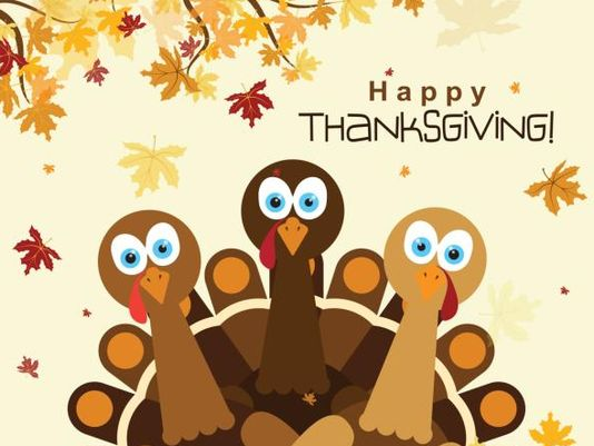Happy Thanksgiving Day Turkey Image