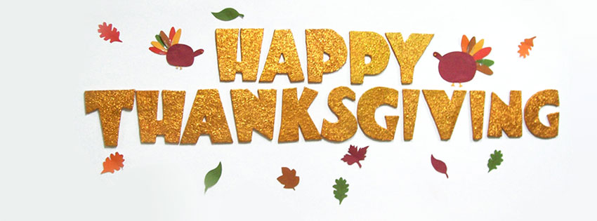 Happy Thanksgiving Day Wishes Facebook Cover Picture