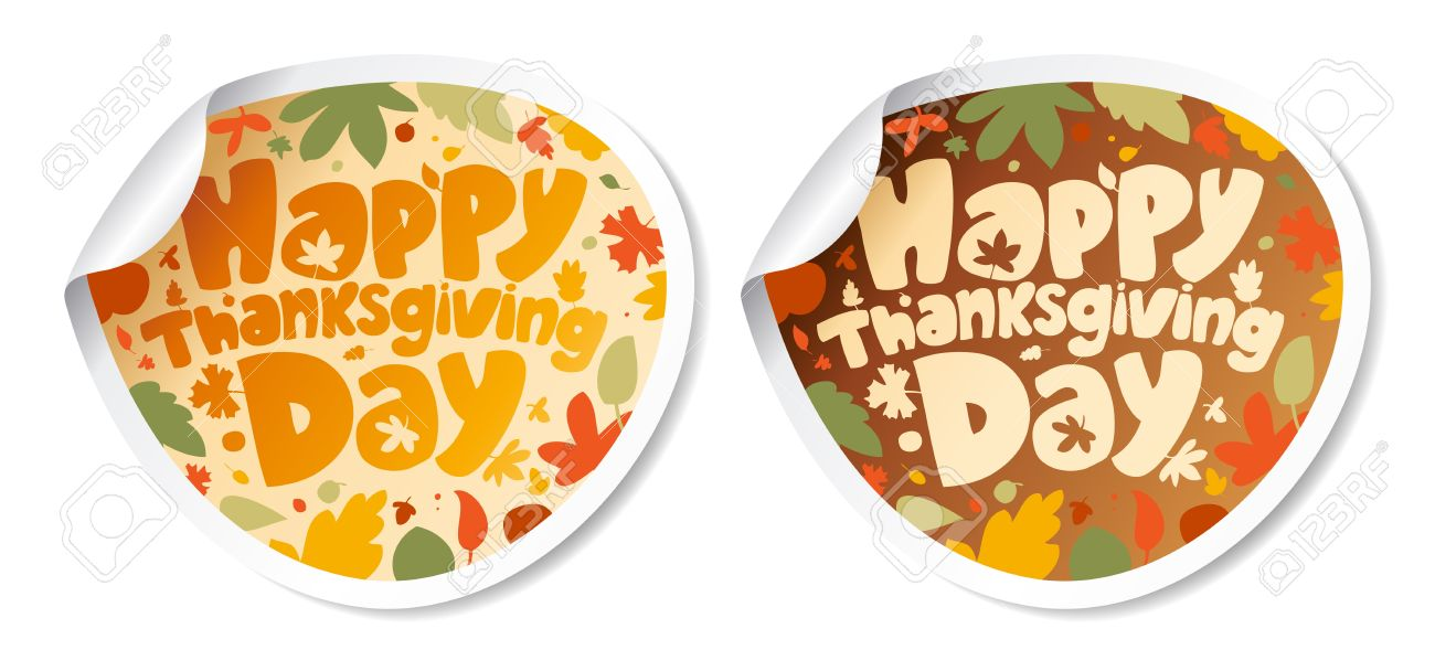 Happy Thanksgiving Day Wishes Stickers Picture