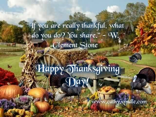Happy Thanksgiving Quote