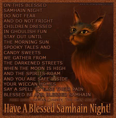 40 best samhain wishes pictures and photos have a blessed samhain night wishes picture m4hsunfo