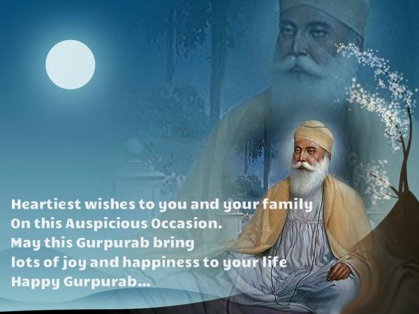 gurpurab greetings