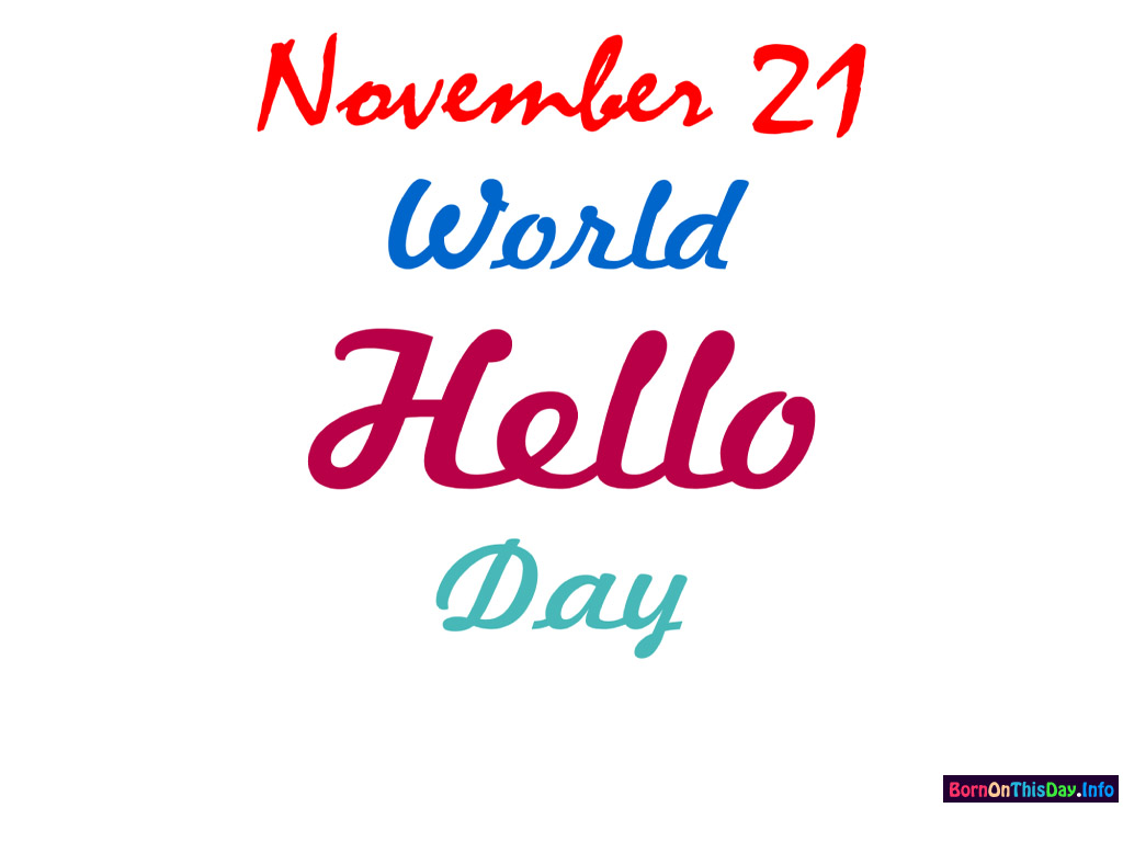 50 latest world hello day 2016 wish pictures and photos