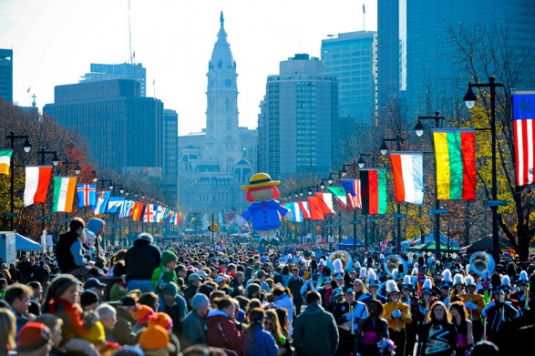 Philadelphia Thanksgiving Day Parade Picture
