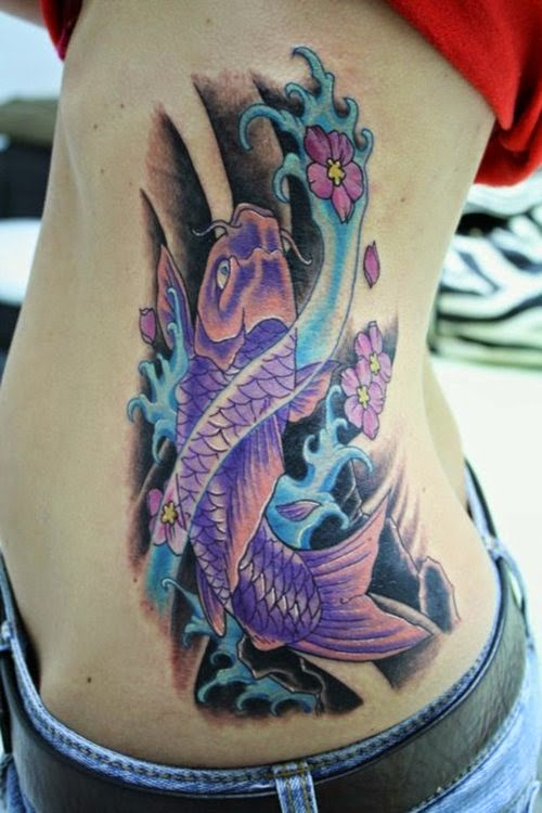 Dragon fish tattoos for Dragon fish tattoo