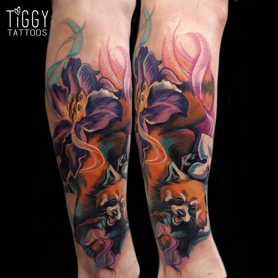 Askideas Com: Red Panda Tattoos
