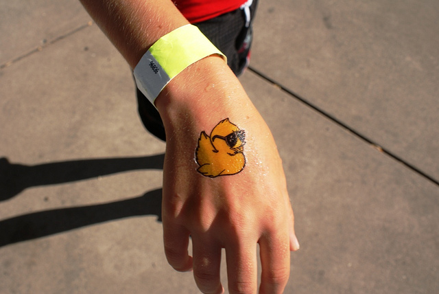 21+ Amazing Rubber Duck Tattoos