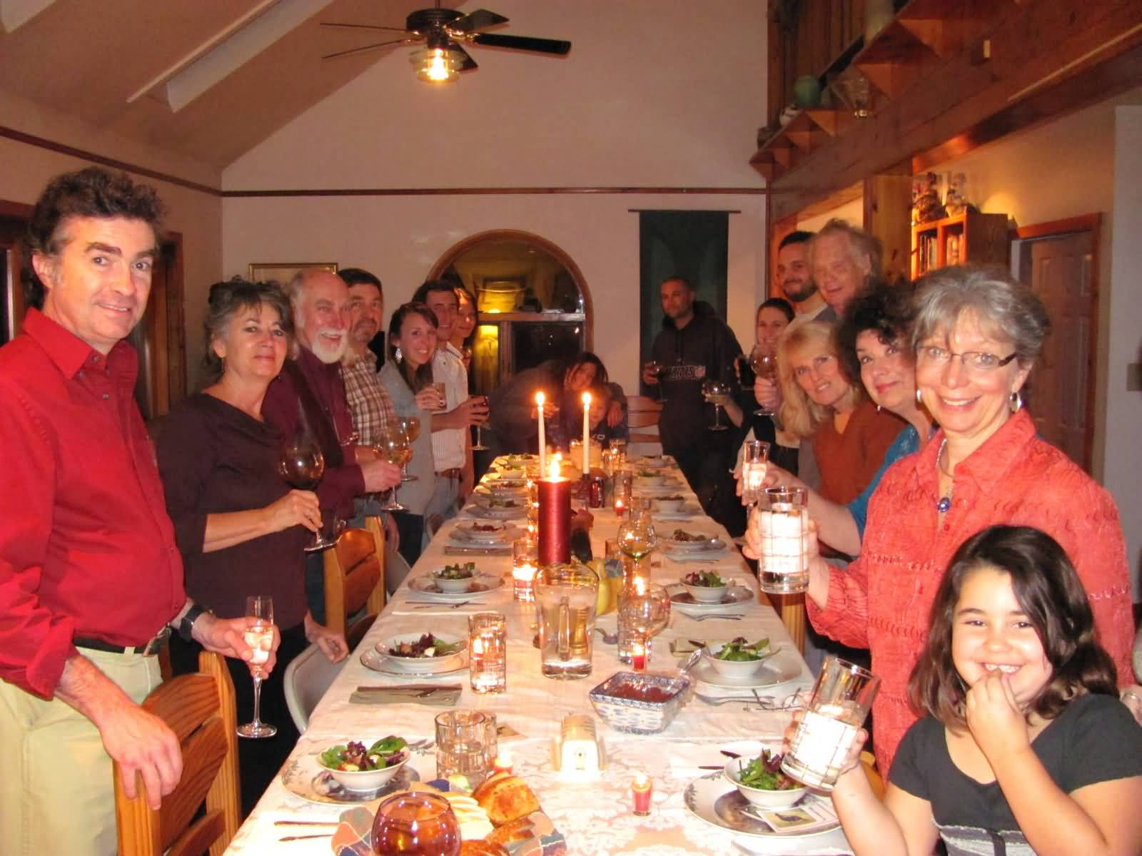 thanksgiving celebration Thanksgiving day is a major festival of united states of america and is celebrated with lots of food and wine - thanksgiving day 2017: significance, date and how it.