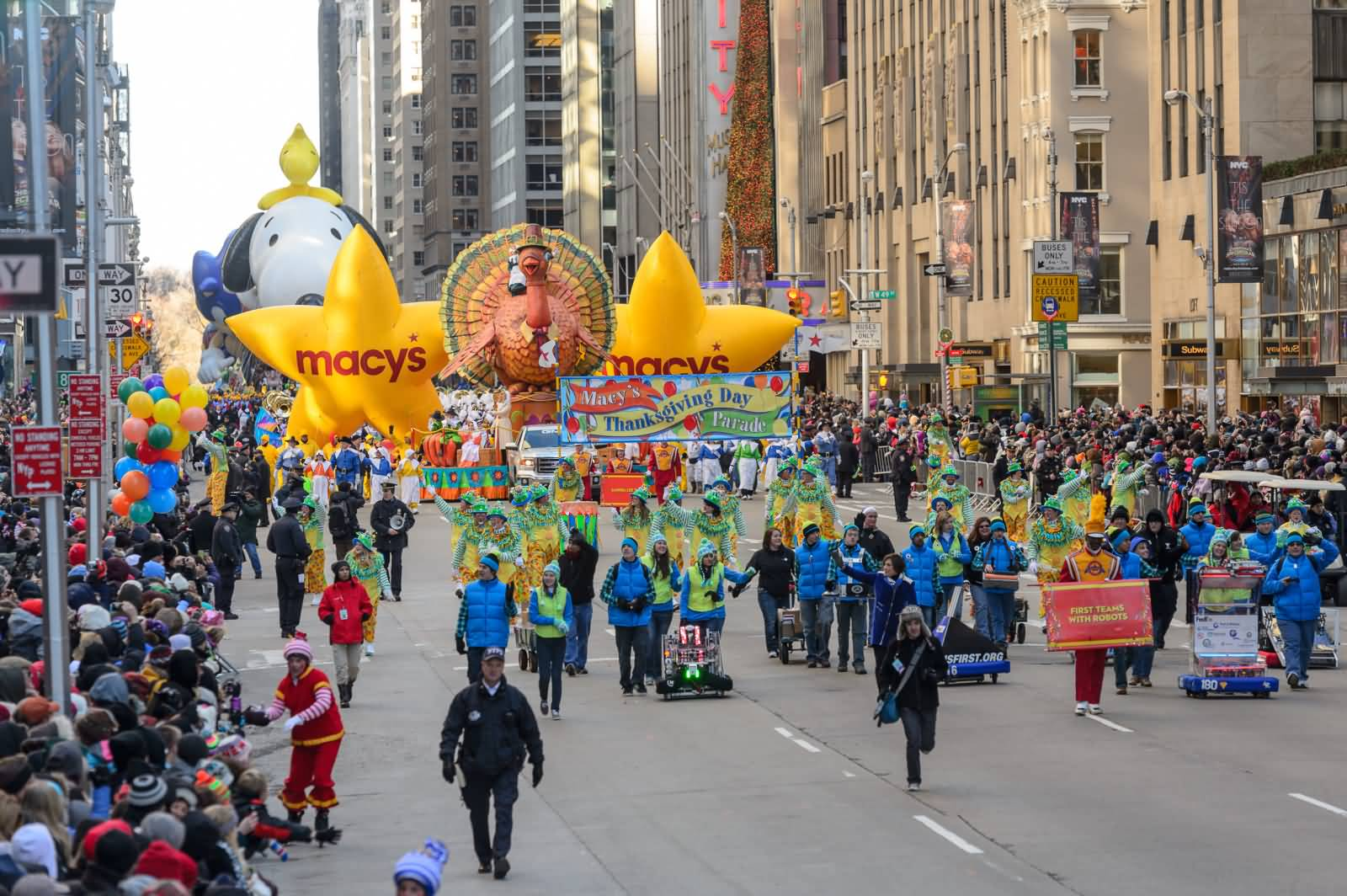 Thanksgiving Day Parade Picture