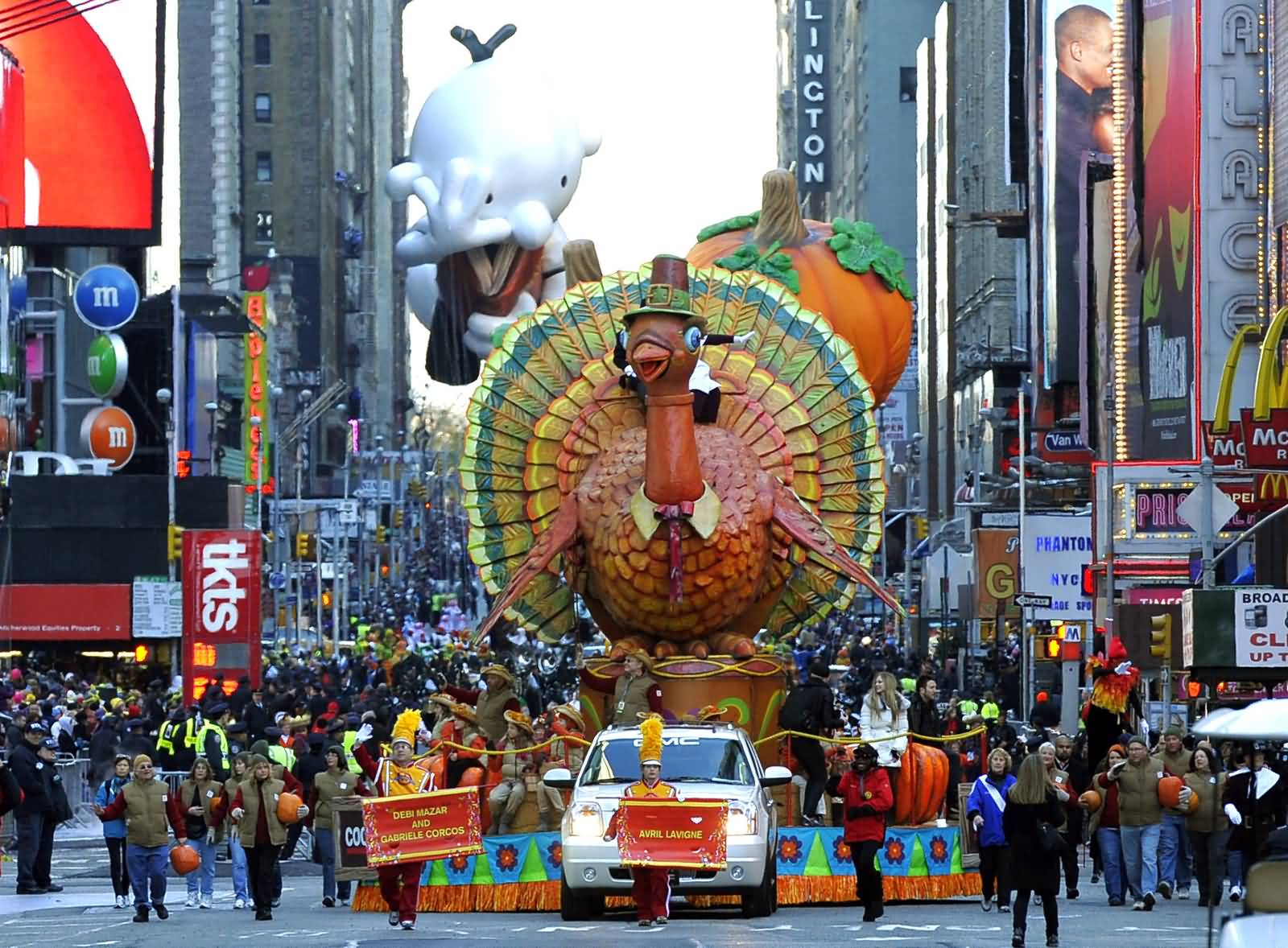 Thanksgiving Day Parade Turkey Float Picture