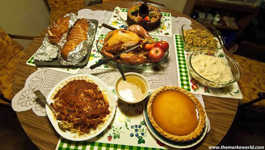 Thanksgiving Delicious Food Picture