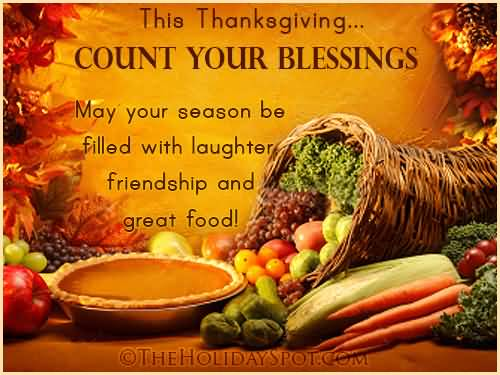 This Thanksgiving Count Your Blessings Greeting Card 55 most beautiful thanksgiving day greeting card pictures