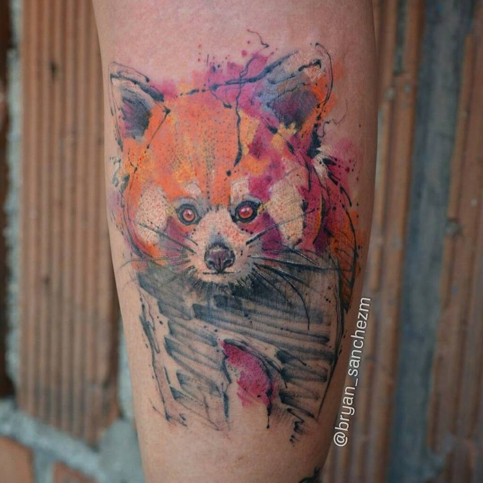 34+ Incredible Red Panda Tattoos - photo#25