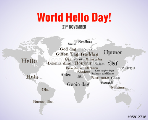 how to say hello in 50 different languages