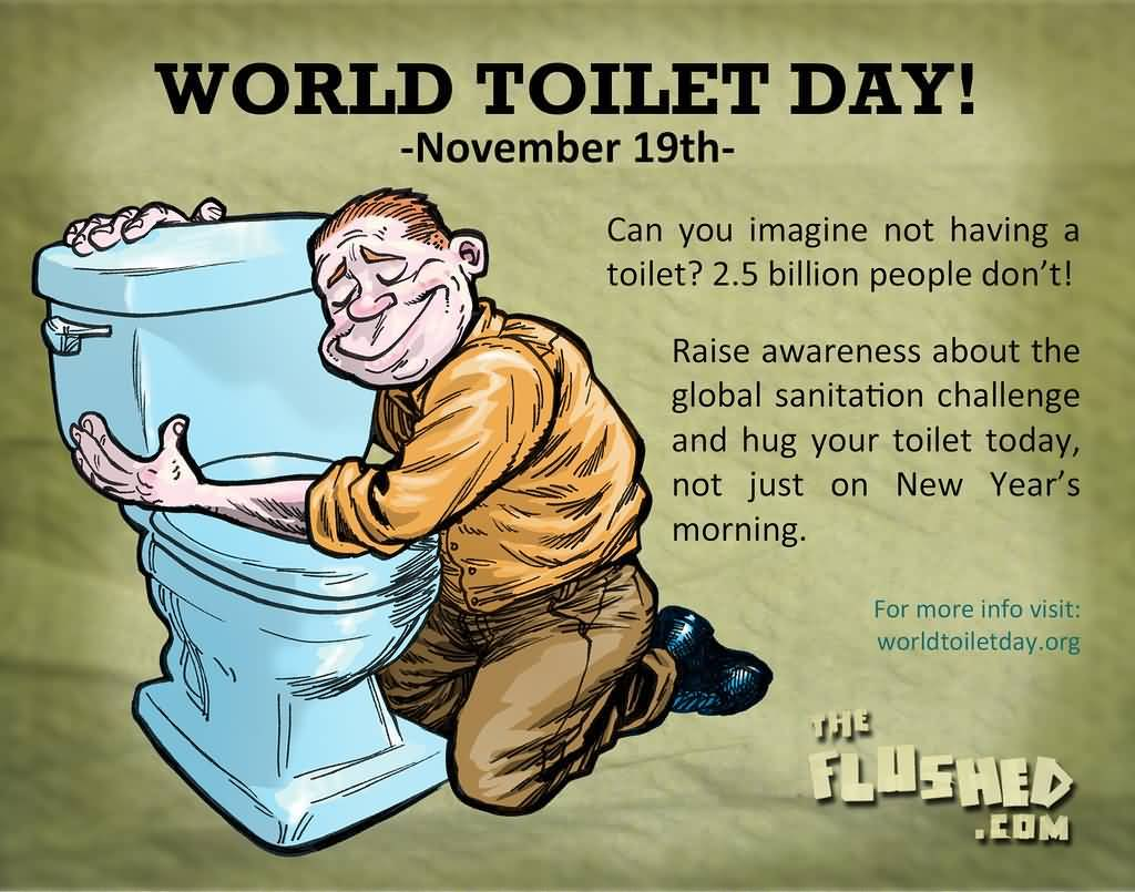 Cool National Toilet Day November 19 Pictures - Image design house ...
