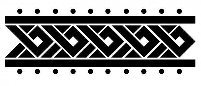 Floral armband tattoo on left arm armband tattoo design idea urmus Images