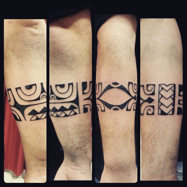 black tribal armband tattoo for men. Black Bedroom Furniture Sets. Home Design Ideas