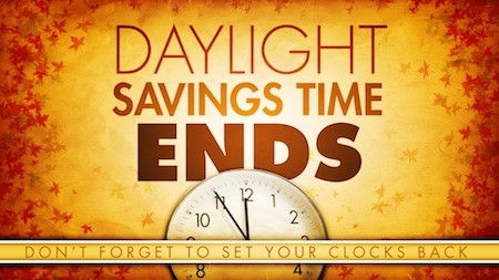 Image result for daylight savings ends