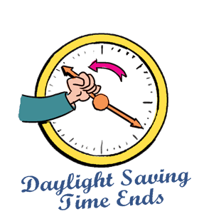 daylight saving time ends set your clocks one hour back clipart rh askideas com daylight saving time clipart daylight savings clipart