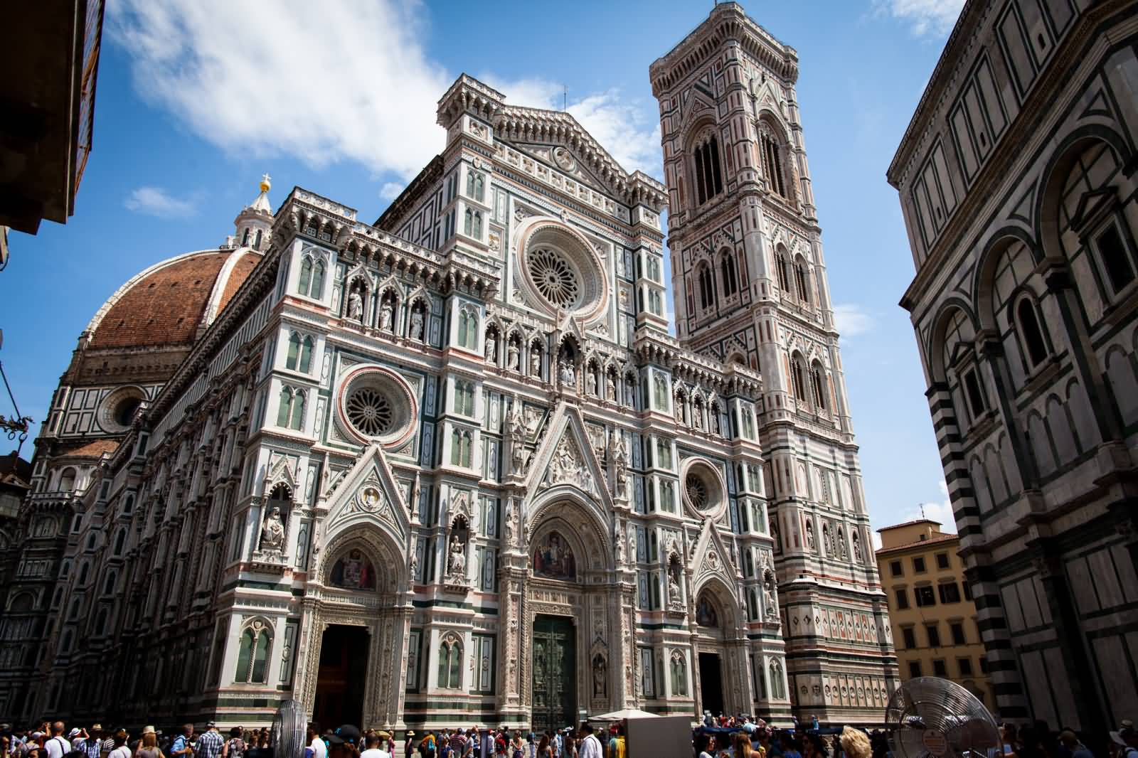 Florence cathedral front view image for Domon florence