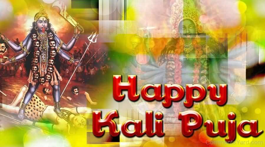 40+ Latest Kali Puja Greeting Pictures And Images