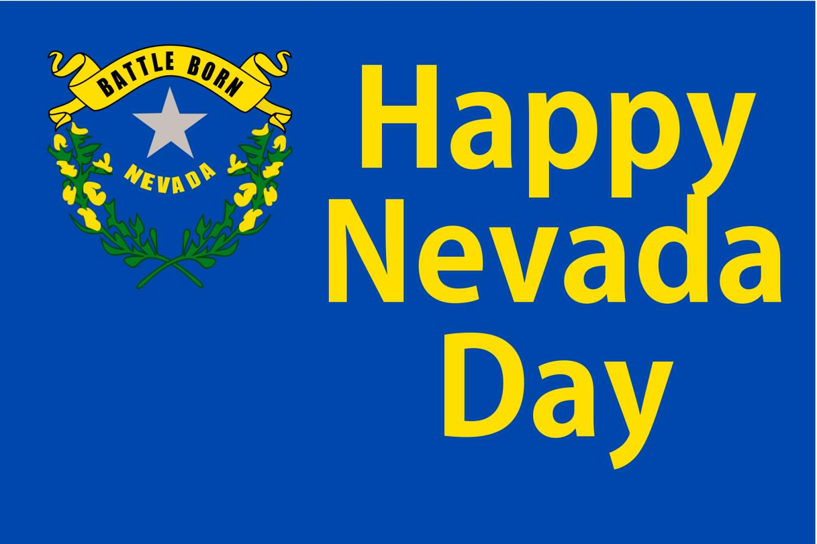 Happy Nevada Day Wishes Picture