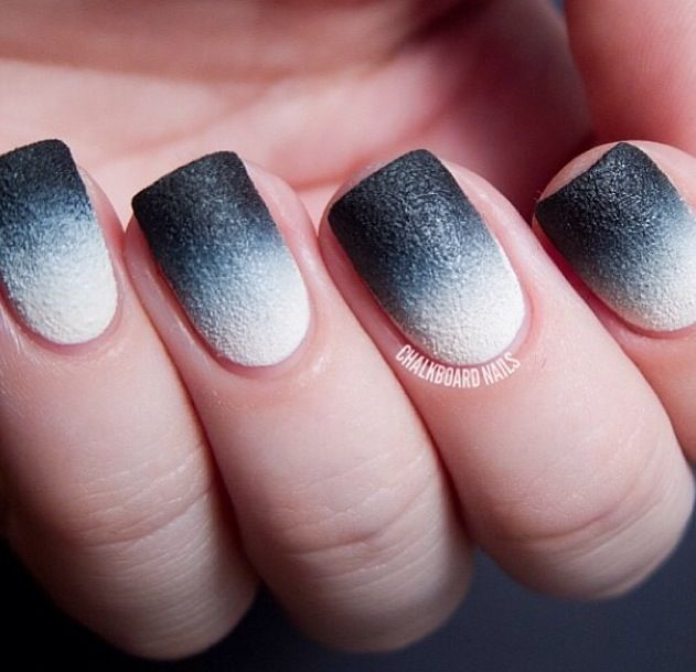black and white nails - Ideal.vistalist.co
