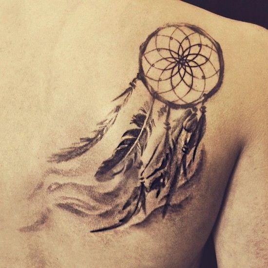 23+ Latest Dream Catcher Tattoos