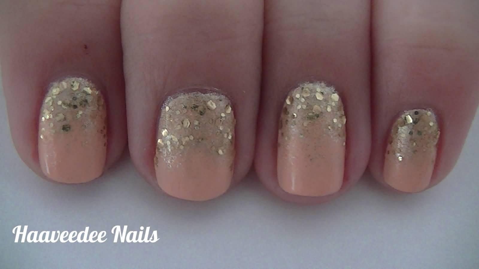 Blue glitter ombr 233 stiletto nails - Gold Glitter Gradient Nail Art 24 Glitter Nail Art Ideas Tutorials For Glitter Nail Designs On A6e6fd3343384b5872895e7ef96a010f Blue Glitter Ombre